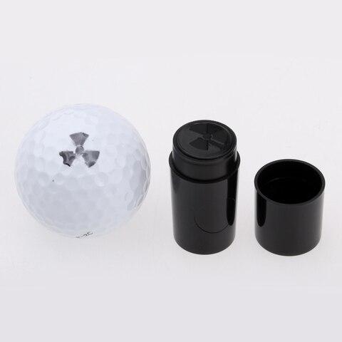 Moinho de Vento Bola de Golfe Marcador para Golfista Conjunto de 2 Plástico Pata Impressão Stamper Carimbo Pçs