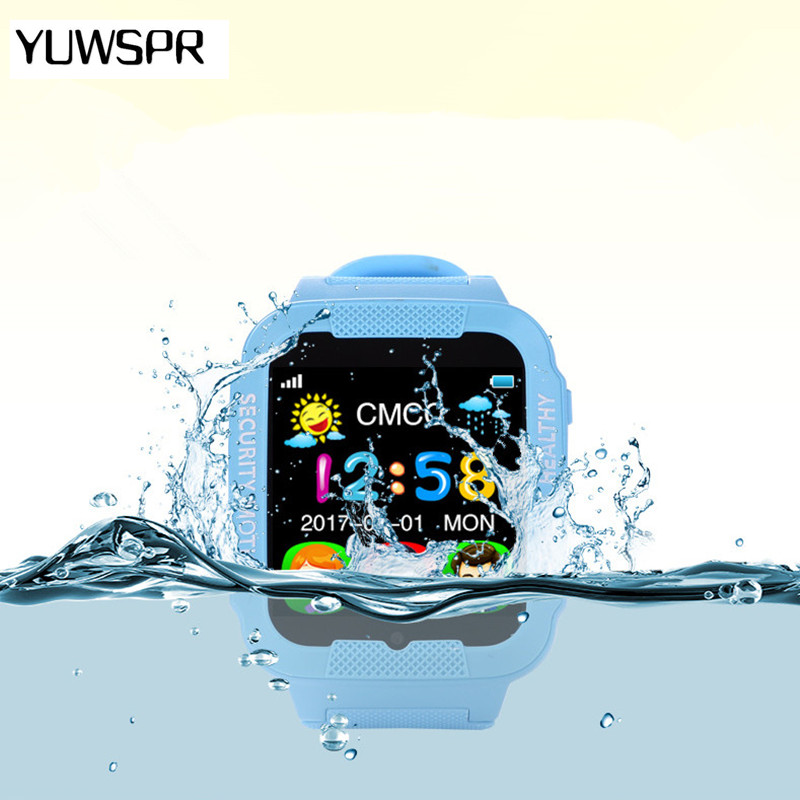 GPS tracker watch for kids camera Waterproof Baby 2 5D Touch screen Bluetooth Safe Anti Lost