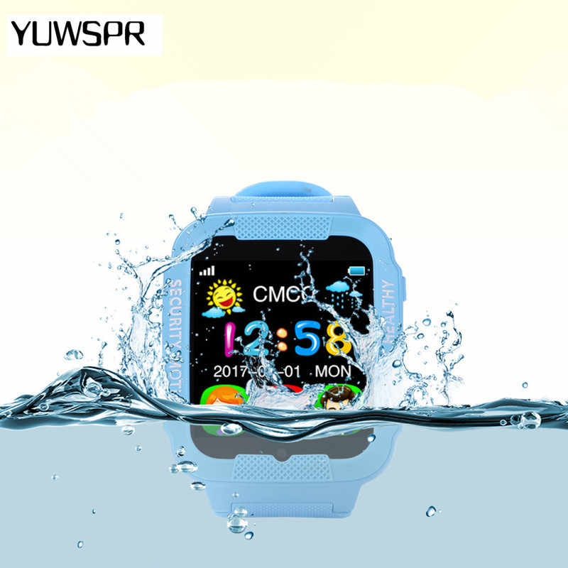 GPS tracker watch for kids camera Waterproof Baby 2.5D Touch screen Bluetooth Safe Anti-Lost SOS Location Smart watches K3