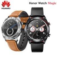 화웨이 명예 시계 매직 smartwatch 1.2 인치 amoled 터치 스크린 심박수 모니터링 nfc gps 방수 긴 배터리 수명|스마트 시계|   -
