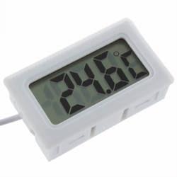 2018 Горячий Поиск 1 шт. температура измерения ЖК дисплей термометр цифровой для аквариума морозильник черный и белый цвет