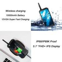 """מכשיר הקשר Blackview BV9500 Pro 5.7"""" 18: 9 FHD Waterproof מכשיר הקשר Smartphone MTK6763T אוקטה Core 6GB RAM 128GB ROM NFC אלחוטי עלות (5)"""