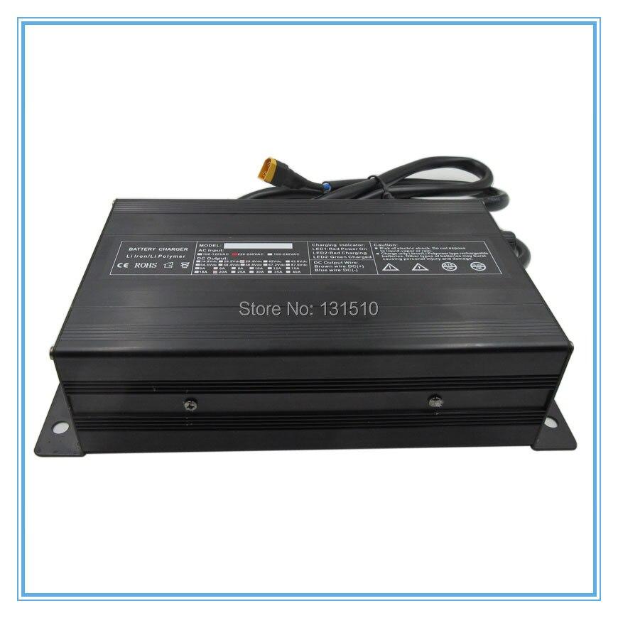 900 w 24 v 20A li ion Caricabatterie 29.4 v 20A caricatore XT60 Porta di Ingresso 100 120 v O 220 240 v Per 7 s 24 v batteria al litio di Trasporto libero - 3