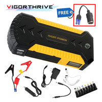 car jump starter power bank 12v emergency car battery booster Multi function car starter start hot sell