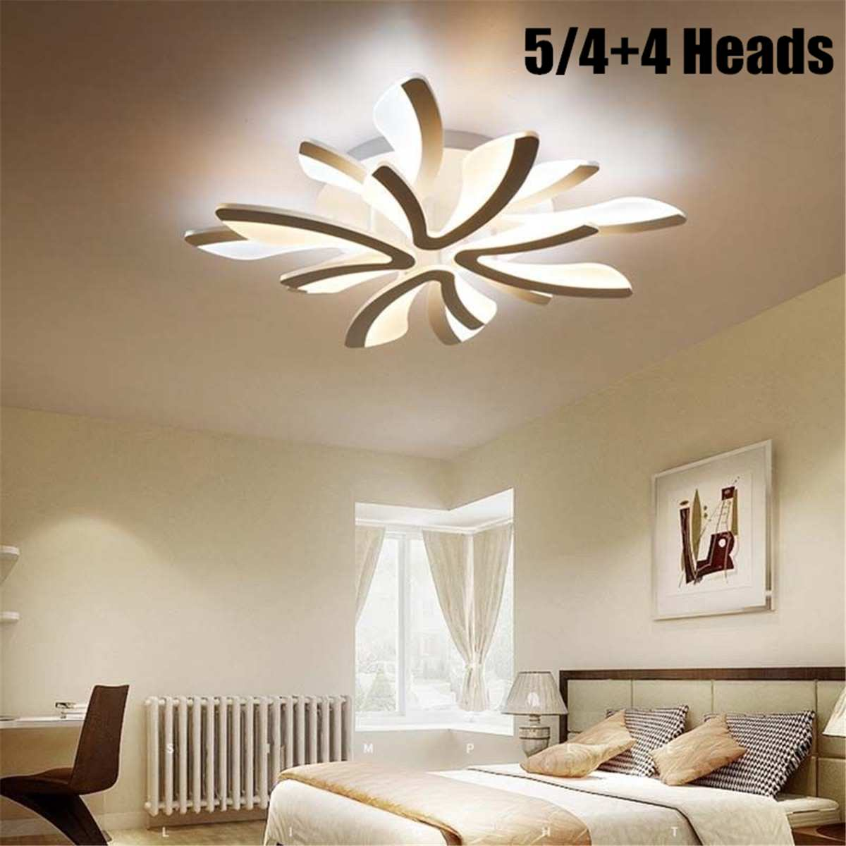 8 Heads Acrylic Modern LED Ceiling Lights for Living Room Bedroom Dining Room Home Decor Ceiling Lamp Lighting Light Fixtures8 Heads Acrylic Modern LED Ceiling Lights for Living Room Bedroom Dining Room Home Decor Ceiling Lamp Lighting Light Fixtures