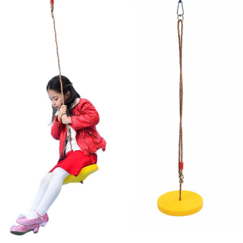 3 pièces 120 kg balançoire siège avec corde réglable en plein air jouet préscolaire jardin jeu pour enfants enfants