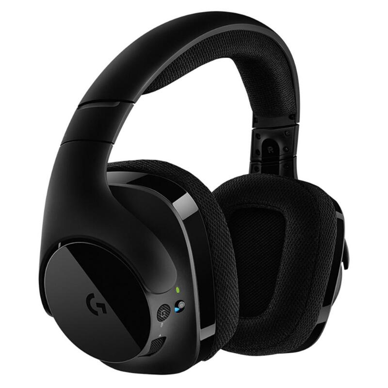 Logitech G533 Wireless DTS 7.1 Surround Sound Headphones Professional Bluetooth Gaming Headset HIFI Lossless Sound Music HeadsetLogitech G533 Wireless DTS 7.1 Surround Sound Headphones Professional Bluetooth Gaming Headset HIFI Lossless Sound Music Headset