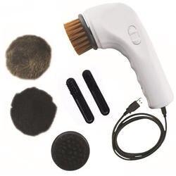 USB Зарядное устройство элекстрическая щетка для обуви очистки кисть для полировки набор для ухода за обувью автомобиля Chargeing ручка щетки