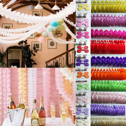 3.6M Four Leaf Clover Paper Garlands Party Wedding Home Decoration Beautiful Wedding Baby Shower Birthday Party Festivals3.6M Four Leaf Clover Paper Garlands Party Wedding Home Decoration Beautiful Wedding Baby Shower Birthday Party Festivals