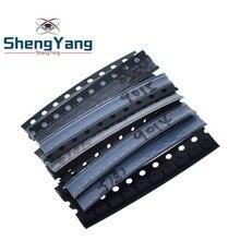 СОТ-23 транзистор поверхностного монтажа Комплект S9013 S9014 S9015 S9018 MMBT3904 MMBT3906 SS8050 SS8550 2N5551 2SC1815 в общей сложности 10 видов X10pcs = 100 шт