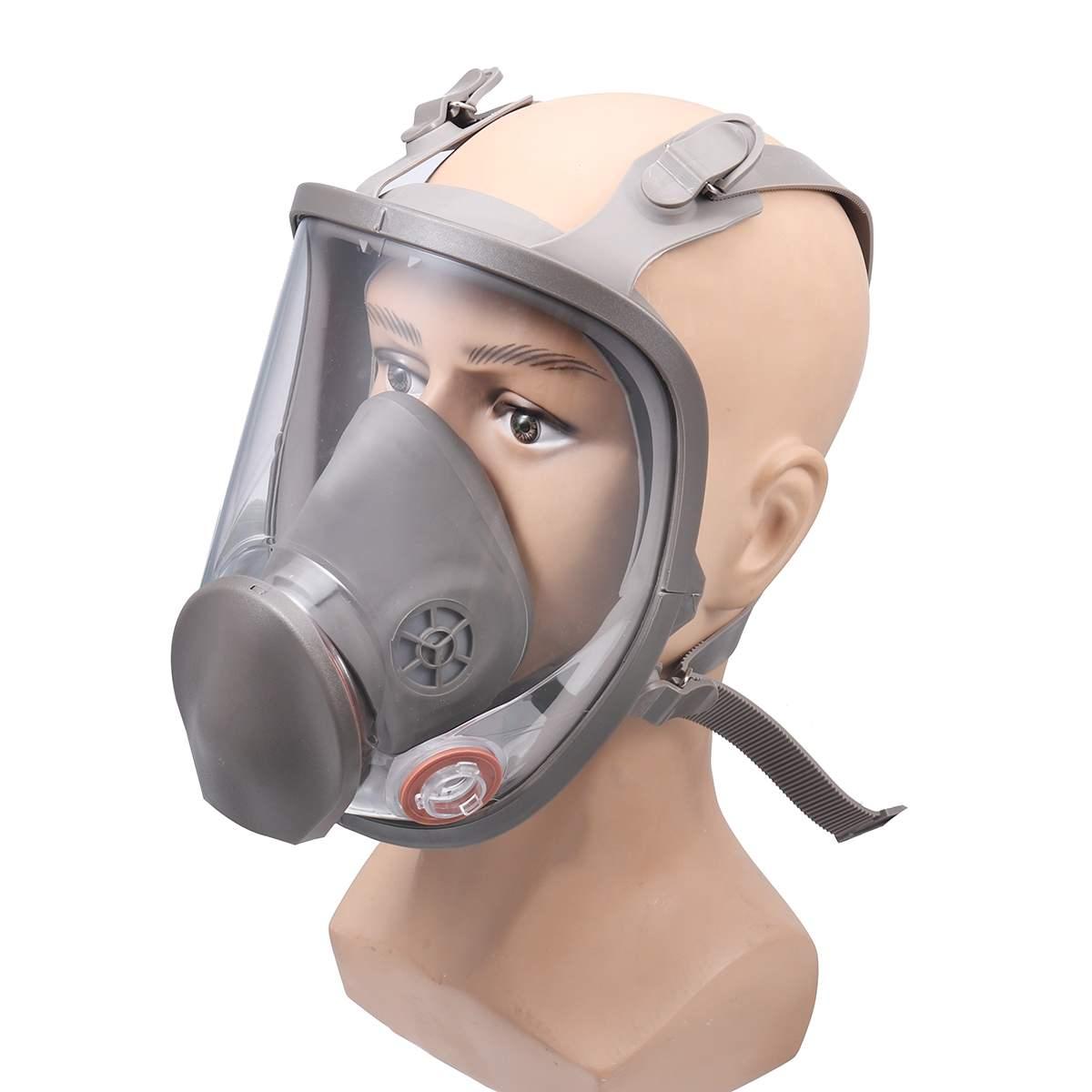 Riutilizzabile 6800 Pieno Viso Maschera Antigas A Spruzzo Pittura Respiratore Silicone Viso pezzo Impianto di Sicurezza Polvere Maschera di Protezione UV ProteggereRiutilizzabile 6800 Pieno Viso Maschera Antigas A Spruzzo Pittura Respiratore Silicone Viso pezzo Impianto di Sicurezza Polvere Maschera di Protezione UV Proteggere