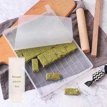 Новые 4 набора сахара режущий инструмент набор, чтобы сделать форма для нуги конфеты выпечки ручной работы Снег торт делая лоток Nougat режущий инструмент