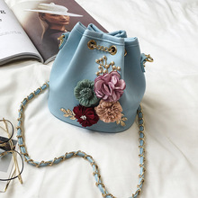 2019 Lady Flower Crossbody Bags For Women PU Leather Handbags Female Shoulder Bag Women Messenger Bags Ladies Hand Bags Sac Tote цена