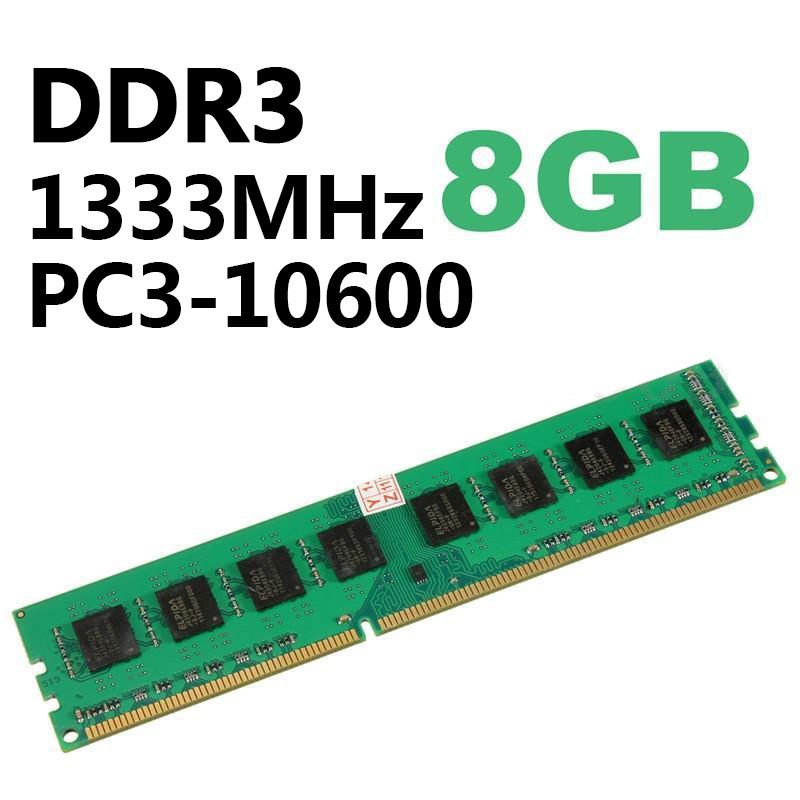 8GB Professional <font><b>DDR3</b></font> <font><b>PC3</b></font>-<font><b>10600</b></font> 1333MHz 240Pin For AMD Desktop PC DIMM Memory RAM New image