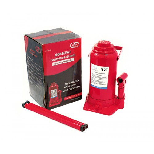Car Jack 32т гидравл. AUTOVIRAZH in the box (red) rise 250-410mm 2pcs set car styling car perfumes refills 100 original 5ml solid air freshener refill flavoring in the car parfums