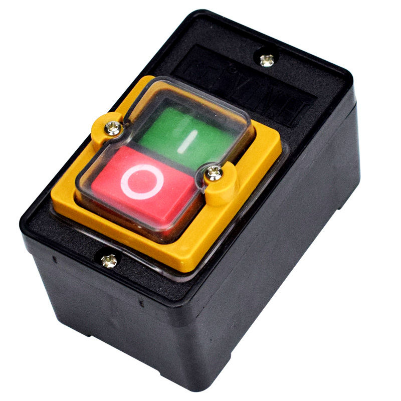 Lights & Lighting 10a 380v Kao-5 Waterproof On/off Push Button Machine Drill Switch Plastic Motor New Arrival Lighting Accessories