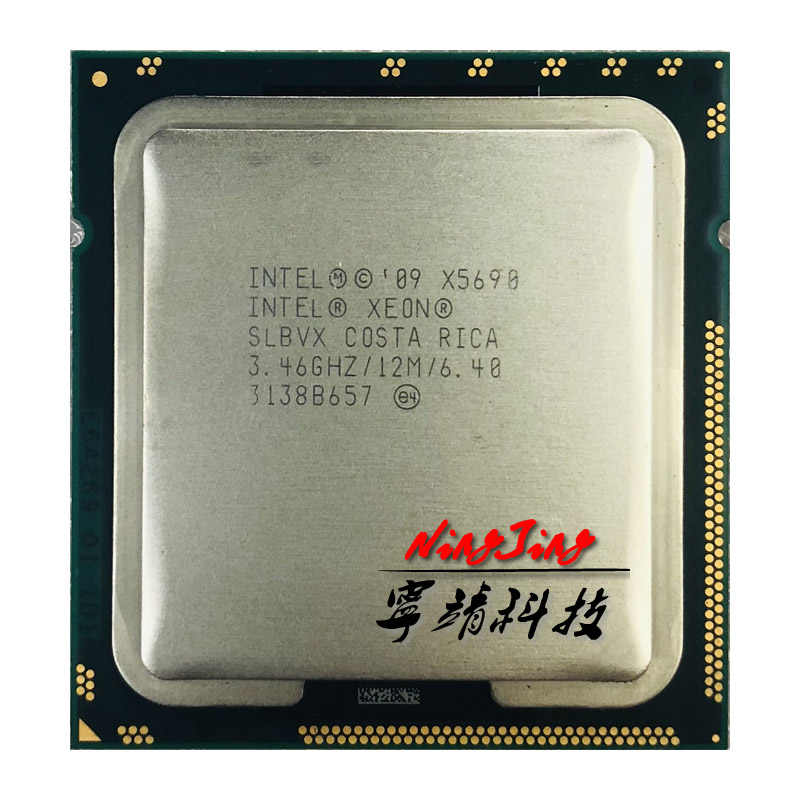 Intel Xeon X5690 3.4 GHz 6-Core Dua Belas-Thread Prosesor CPU 12M 130W LGA 1366