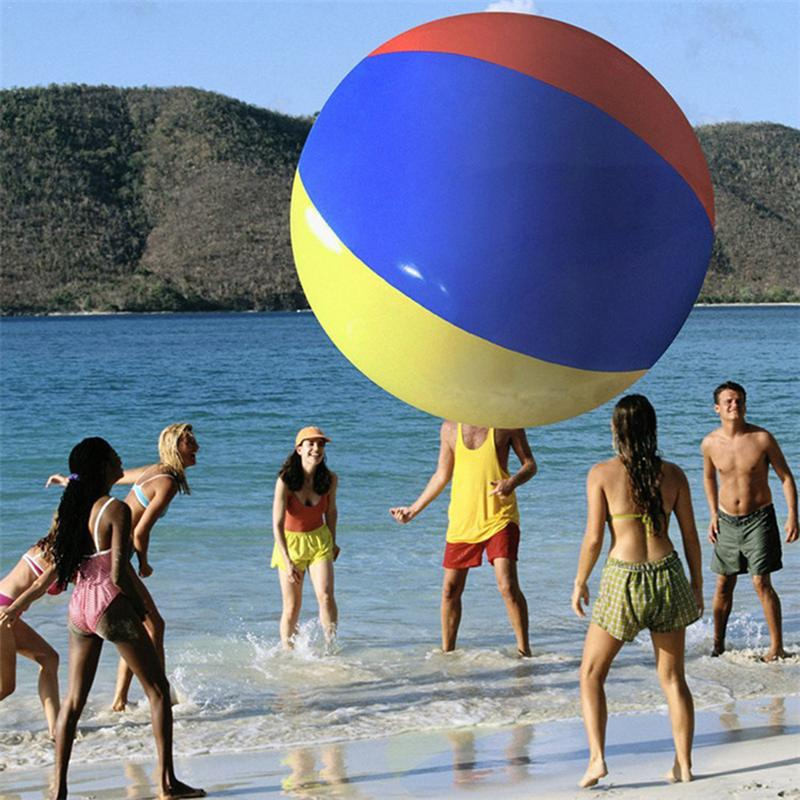 Hot Sale Inflatable Beach Ball Large Inflatable Thickened Volleyball Beach Pool Play Parent child Outdoor Entertainment Toys