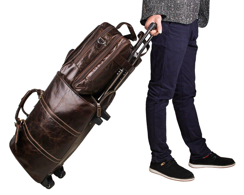Европейская и американская деловая кожаная мужская сумка 730 40 большая сумка 17 дюймов компьютерный портфель для ноутбука чехол для документ... - 4