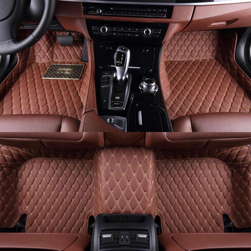 フォルクスワーゲンパサート用 B5 B6 B7 B8 2000-2020 自動 matten 車カーアクセサリーカースタイリング床マット коврики для авто