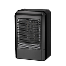 MINI calentador de cerámica portátil de 500 W, ventilador caliente eléctrico, calentador de invierno para el hogar (enchufe estadounidense)
