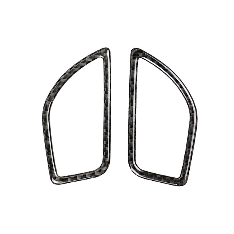 For <font><b>Bmw</b></font> F20 <font><b>F21</b></font> Carbon Fiber Interior Air Conditioning Vent Outlet Trim Cover Car Styling 3D <font><b>Stickers</b></font> 118i 1 Series Accessorie image