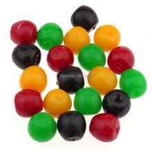 Gresorth 20 PCS Fake MINI Plastic Cherry Artificial DIY Fruits Cherries Slice Decoration Accessories