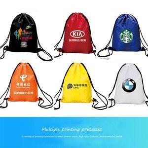 Zackpack أكياس الرباط مخصص شعار الرياضة للماء الحقيبة على ظهره سحب حبل قماش حقيبة صالة الألعاب الرياضية Mochila