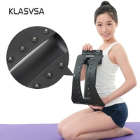 KLASVSA 18 Magnets Magic Stretching Back Massager Lumbar Support Back Stretcher Waist Relax Fitness Equipment Spine Chiropractic