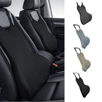 Car Waist Support Pad Memory Foam Cushion Seat Backrest Lumbar Back Support Cushion For Spring And Summer Interior Parts