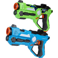 Children's Toy Gun Plastic Real Battle Infrared Sensing Laser Tag Parent child Interaction Game Electronics Arms Pistol New