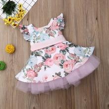 Baby Girls Dress Flower Lace Tutu Dress For Baby Girl