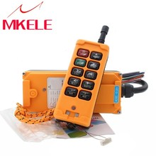 HS-10 Wireless Transmitter High Quality New Arrivals Crane Industrial Remote Control  Push Button Switch China nice uting ce fcc industrial wireless radio double speed f21 4d remote control 1 transmitter 1 receiver for crane