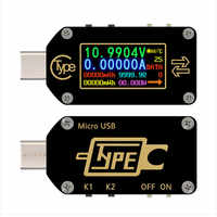 Tc66/tc66c Type-c Pd Trigger Usb-c Voltmeter Ammeter Voltage 2 Way Current Meter Multimeter Pd Charger Battery Usb Tester New B4