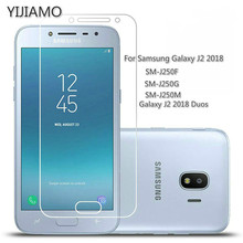 9H Safety Protective Glass For Samsung Galaxy J2 2018 Screen Protector For Samsung J2 Pro 2018 Tempered Glass On J250 F G M DS protective glass red line for samsung galaxy j2 2018