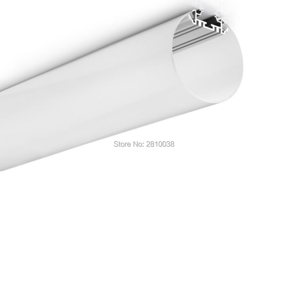 10x1 m conjuntos lote dia 3 88 forma redonda circinada levou canal de aluminio perfil de