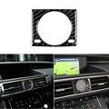Auto Carbon Faser Dashboard Quarz Uhr Uhr Abdeckung Trim Fit Für Lexus IS250 IS300-in Kfz Innenraum Aufkleber aus Kraftfahrzeuge und Motorräder bei