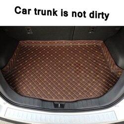 Nowy wysokiej z boku samochodu mata do bagażnika s dla BMW serii 2 F22 F23 F45 F46 220i 225i 230i M240i samochód ciężarowy z tyłu Boot Liner mata do bagażnika dywan na