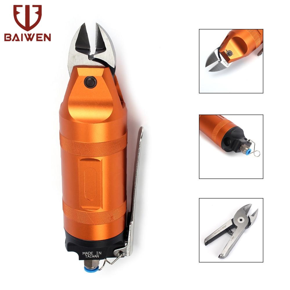 Pince à sertir pneumatique pour couper en laiton aluminium métal doux fer acier inoxydable pince à Air cisaillement ciseaux outils de coupe
