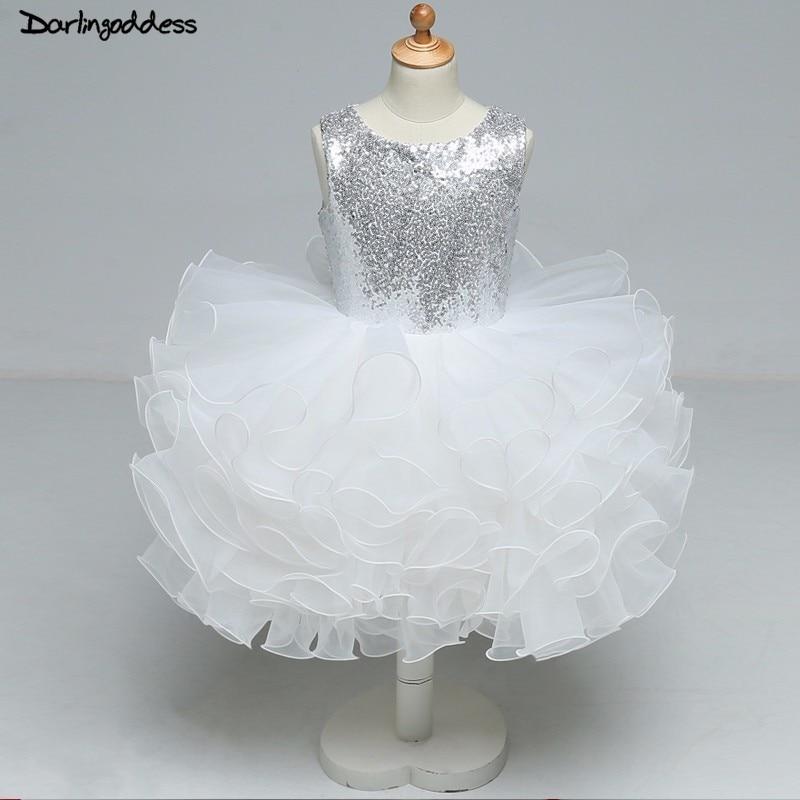 White   Flower     Girl     Dresses   for Weddings Ball Gown Formal Party   Dress   for Little children Kids Pageant   Dress     Girl   Evening Gown