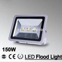 150w conduziu a luz de inundação cob 150w conduziu o projector  conduziu a lâmpada exterior 150w holofote à prova dspotlight água AC85-265V 110v 220v