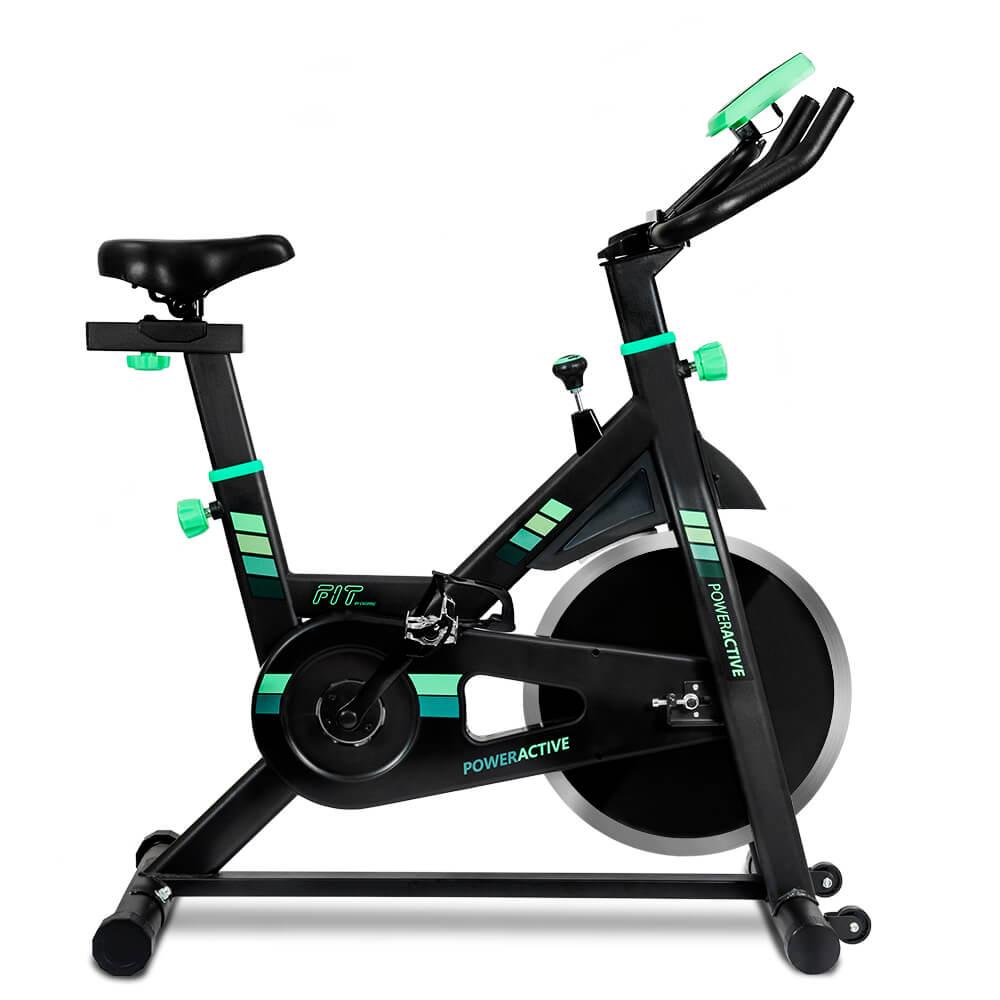 Cecotec PowerActive Bicicleta Estatica, Bicicleta Spinning, Ejercicio en casa, Ciclo Interior, Maquinas de gimnasio, Fitness