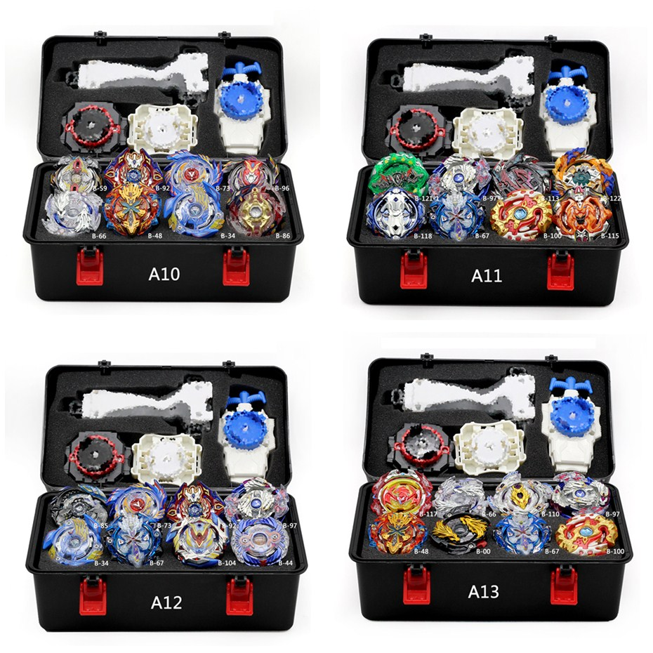 Beyblade Burst Set Toys Beyblades Arena Bayblade Metal Fusion Fighting Gyro 4D With Launcher Spinning Top