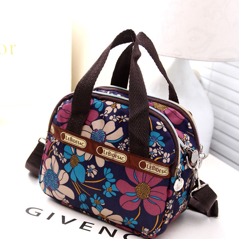 New Women Waterproof Nylon Messenger Cross Body Handbag Ladies Satchel Shoulder Bag Purse Casual Travel Pack