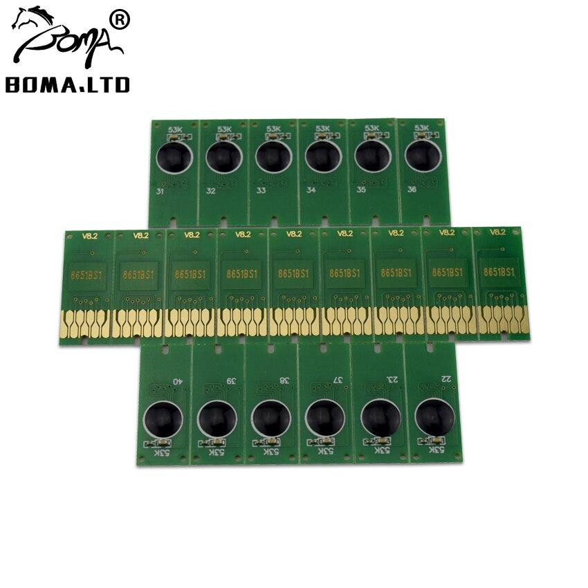 Boma. ltd chip de cartucho de tinta para epson workforce pro t8651 t8651xxl black workforce wf-m5690 m5190 m5190 m5190 m5190 m5191 m5193 m5693 impressora