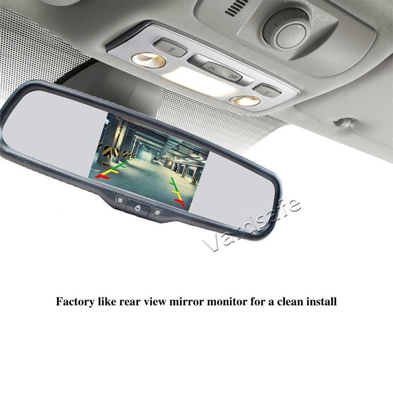 2016-2019 Brake Light Rear View Reversing Backup Camera Kit for Citroen Jumpy Dispatch SpaceTourer Peugeot Expert Traveller ProAce Vardsafe VS536M