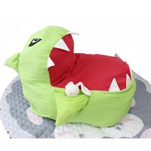 LanLan мультфильм в форме акулы мешок бобов для детей игрушки хранения одежды