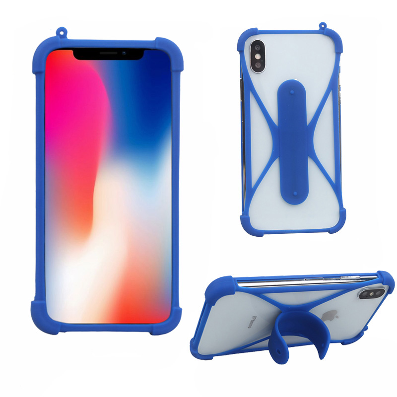 For aligator S5070 5 inch Universal Smartphone Silicone Case Phone Holder Support Cell For aligator S5080 Duo LTE 5 inch Case