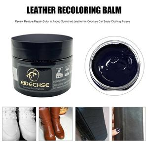 Image 3 - New Leather Recoloring Balm Renew Restore Repair Color To Faded Scratched Leather For Couches Car Seats Clothing Purses