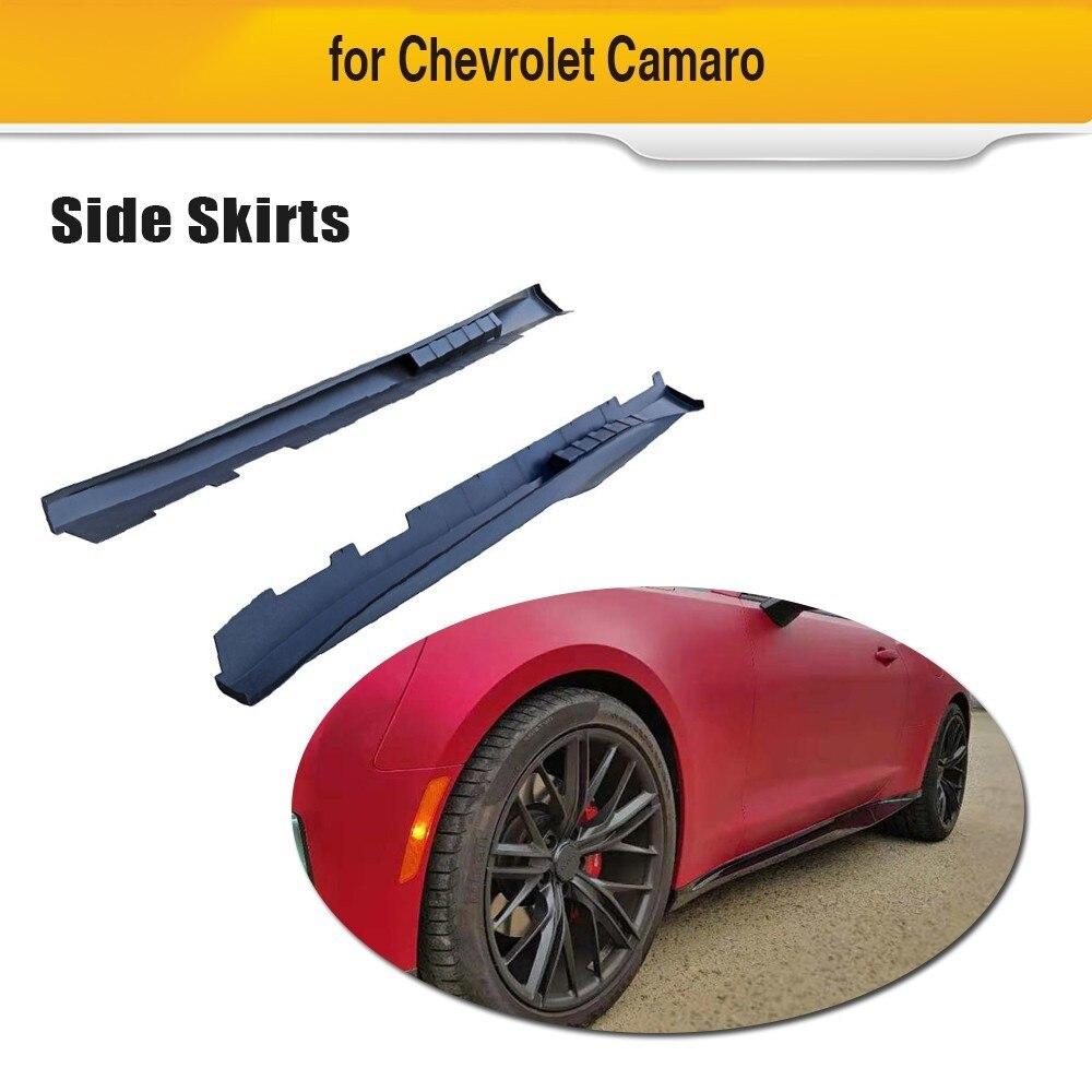2019 Nieuwste Ontwerp Auto Side Skirts Voor Chevrolet Camaro 2017 Coupe 2 Deur 1le Stijl Pp Side Bumper Lip Rok